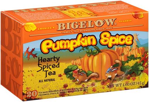 bigelow tea FB pumpkin spice