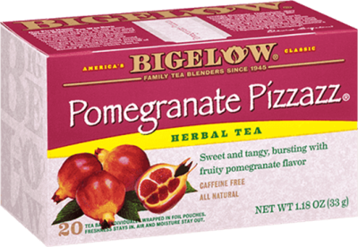 bigelow tea pomegranate pizzazz tea
