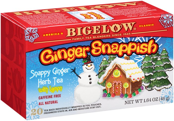 BIgelow Tea Ginger Snappish
