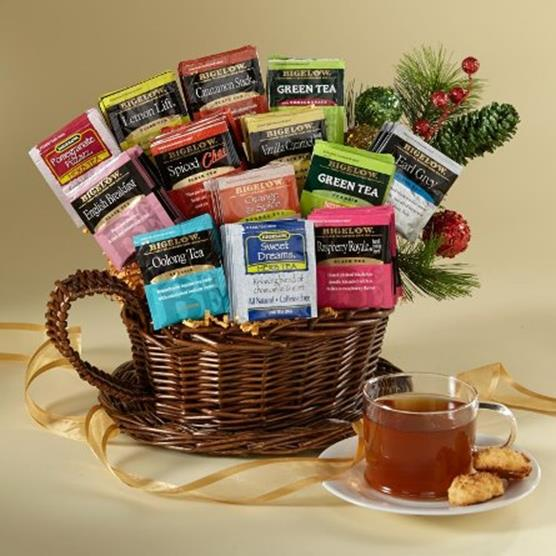 bigelow tea gift basket