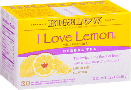 bigelow tea i love lemon