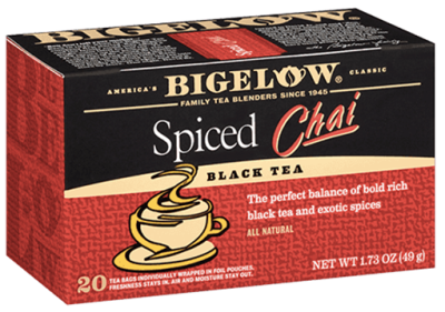 bigelow tea spiced chai