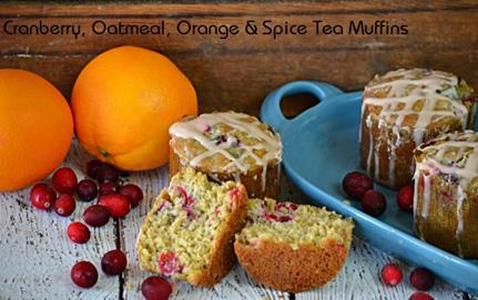 bigelow tea oatmeal muffins