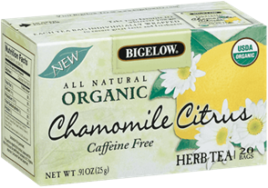 bigelow tea chamomile citrus