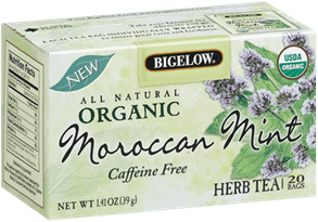 bigelow tea moroccan mint organic
