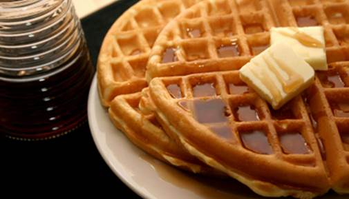bigelow tea waffle recipes