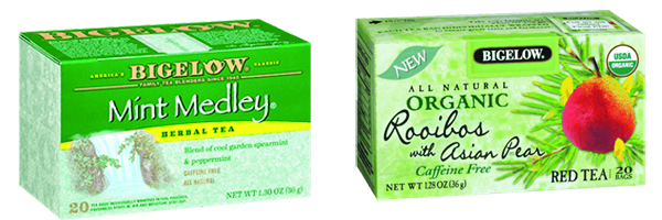 bigelow mint medley rooibos  with asian pear