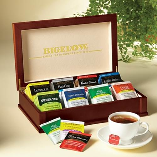 bigelow tea tea box gift