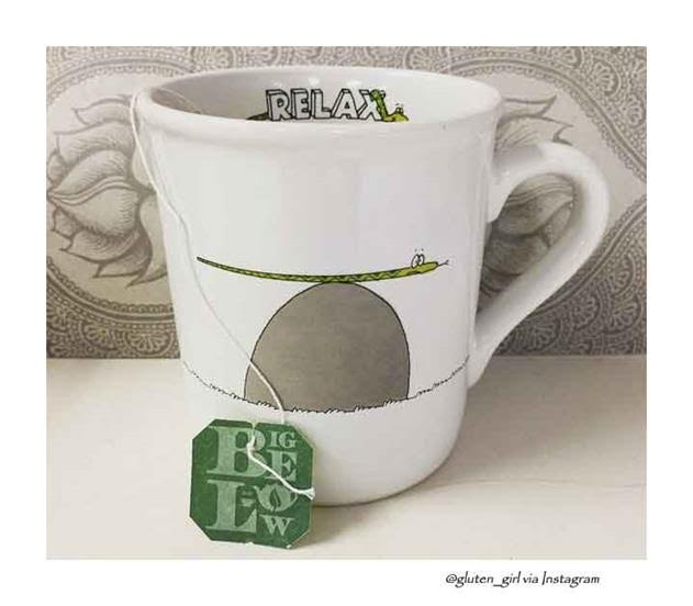 bigelow tea relax mug