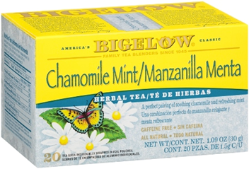 bigelow tea chamomile mint
