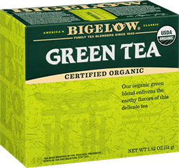 bigelow tea green tea certified organic