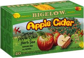 bigelow tea apple cider