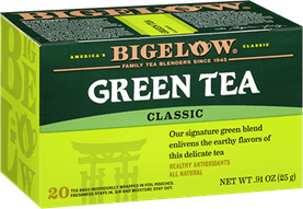 bigelow tea green tea box