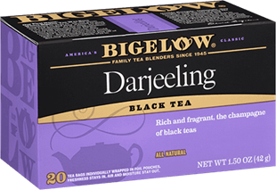 Darjeeling Black Tea Box Bigelow Tea