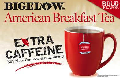 bigelow tea american breakfast extra caffeine