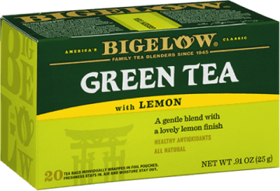 bigelow tea green tea with lemon