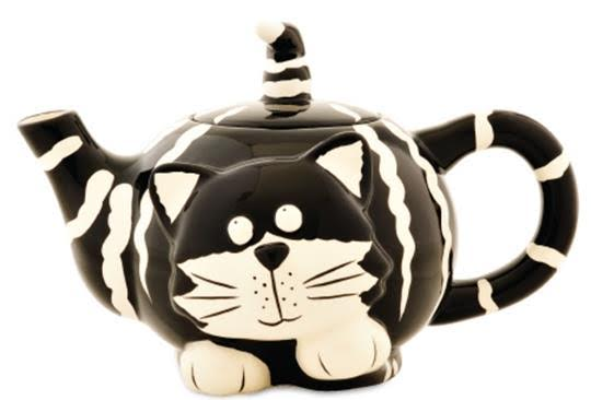 bigelow tea cat tea pot