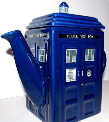bigelow tea dr who teapot