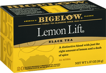 bigelow tea lemon lift tea