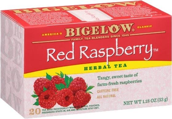 bigelow tea red raspberry herbal tea