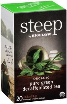 bigelow tea steep decaf green tea