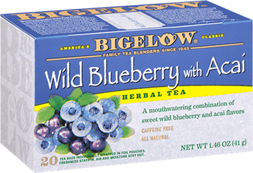 bigelow tea wild blueberry