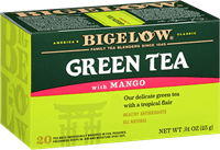 bigelow tea green tea with mango