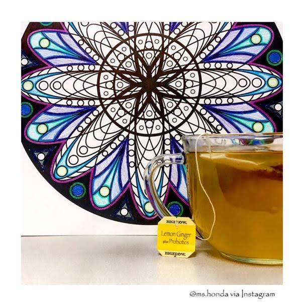 bigelow tea lemon ginger