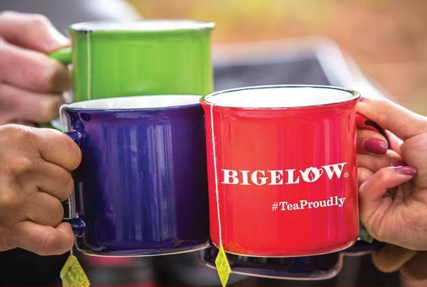 bigelow tea proudly