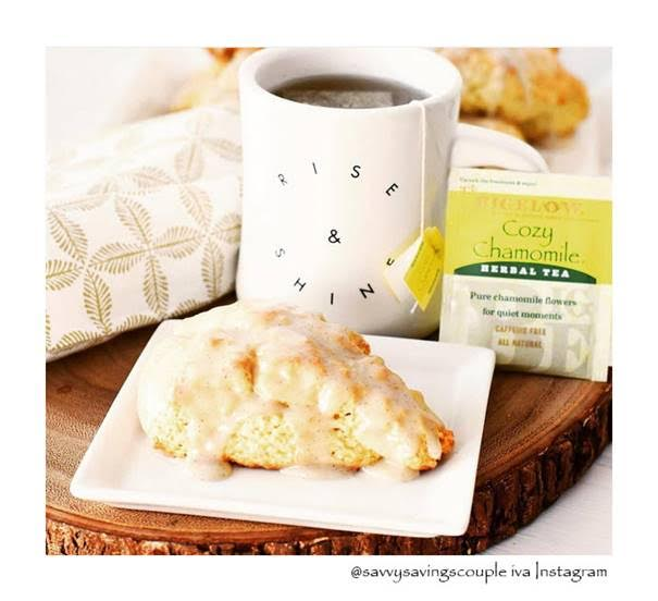 bigelow tea scone and mug