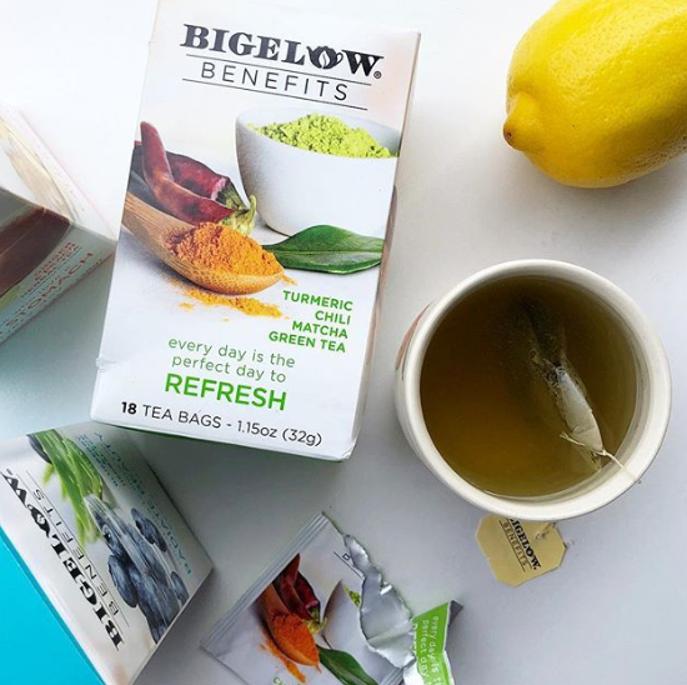 bigelow benefits refresh tea
