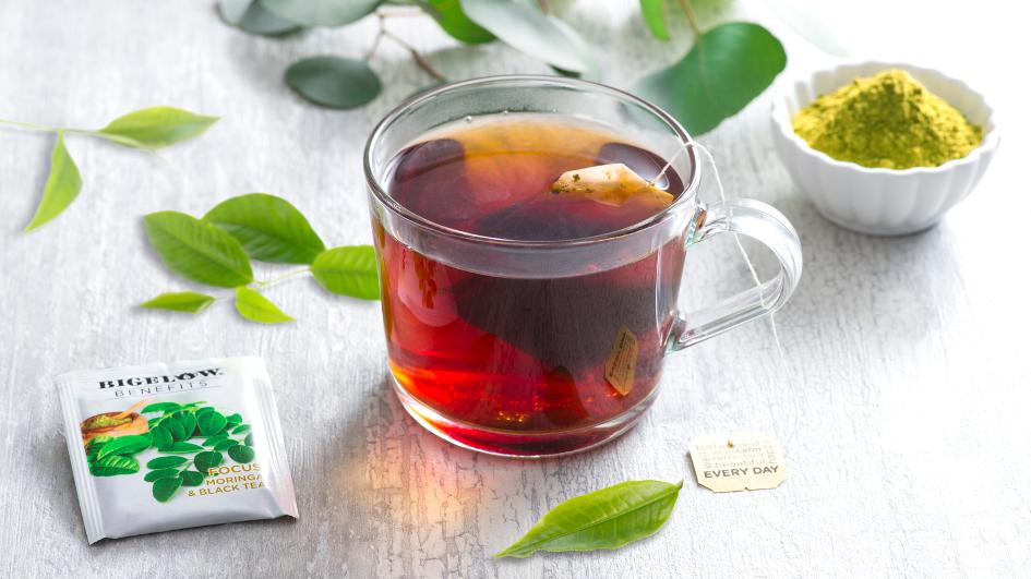 Bigelow Tea, Bigelow Benefits FOCUS: Moringa and Black Tea